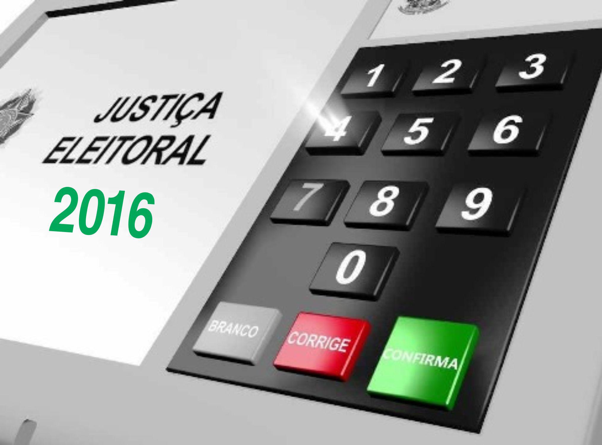 Resultado de imagem para urna eleições 2016