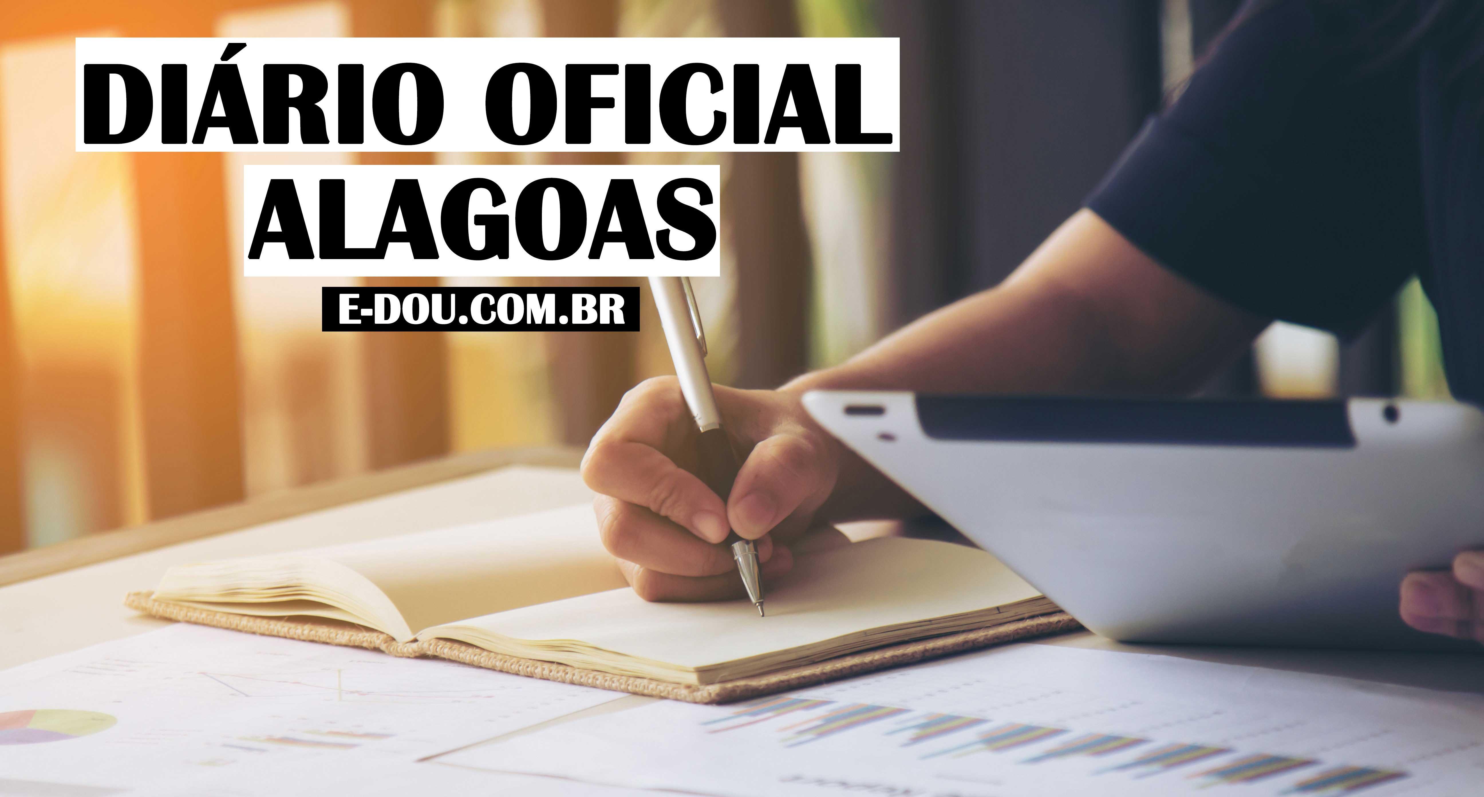 [E-DOU]-Alagoas