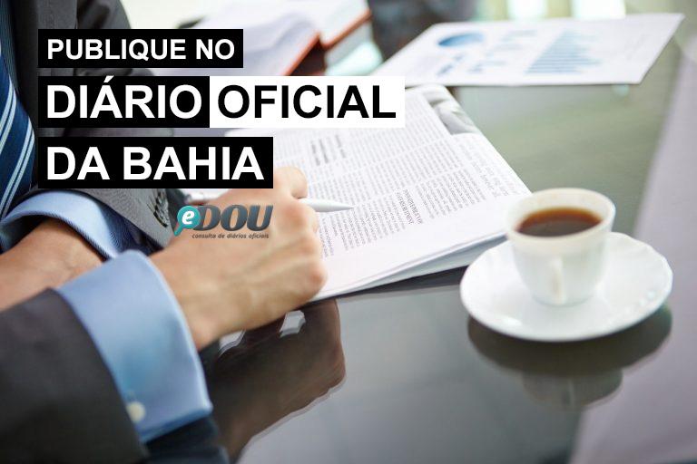 Diário Oficial da Bahia